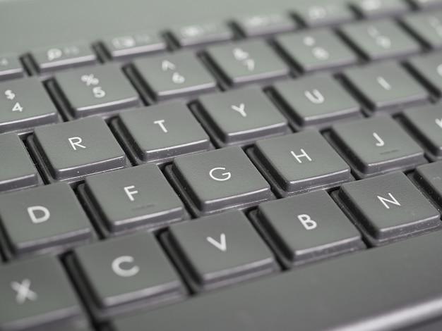 Touches du clavier de l'ordinateur