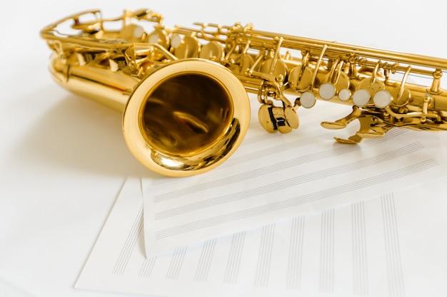 Touches de saxophone