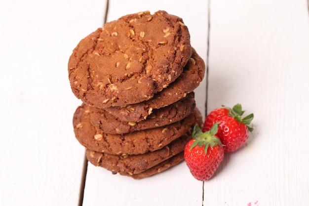Tour de biscuits à l'avoine et les baies