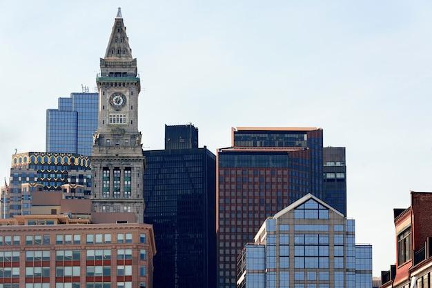 Tour de la custom house à boston