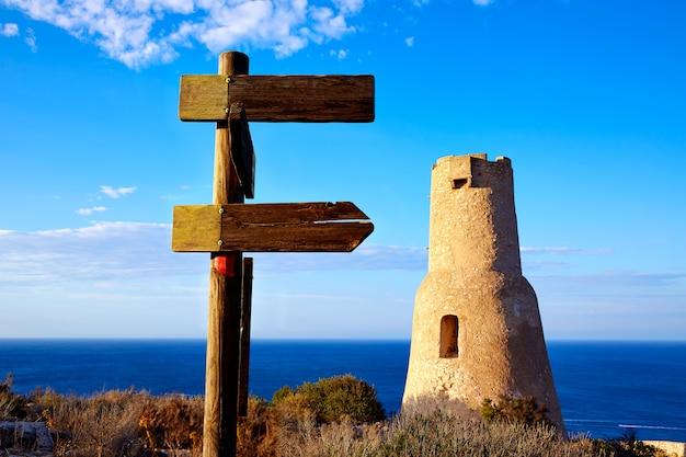 Tour denia torre del gerro à las rotas en espagne