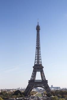 Tour eiffel, symbole de paris, france.