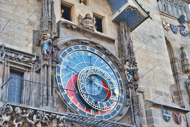 Tour de l'horloge astrologique à prague