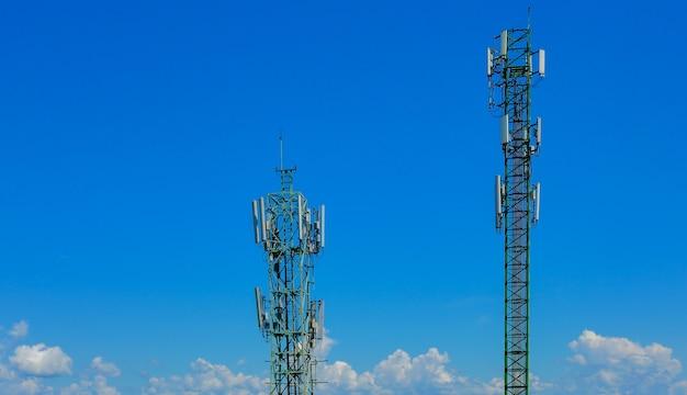 La tour de télécommunication est la description générique des mâts radio.