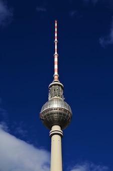 Tour de télévision de berlin, fernsehturm, allemagne