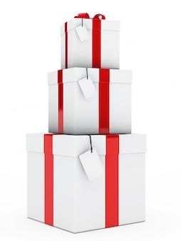 Tour avec trois cadeaux