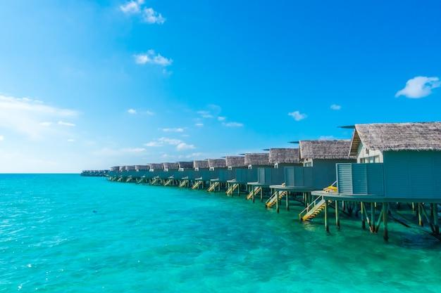 Tourisme de lagune de vacances paradis nature