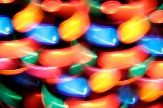 Tourner discothèque lampe abstrait rotation