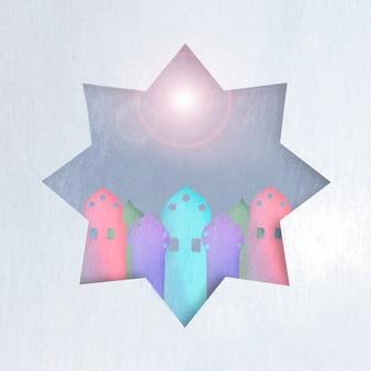 Tours dans l'étoile en fusée éclairante