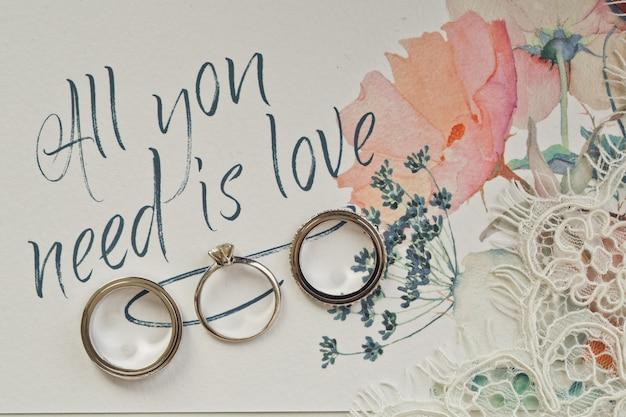 Tout ce dont vous avez besoin est l'amour