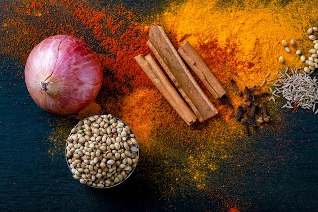 Toutes les épices indiennes