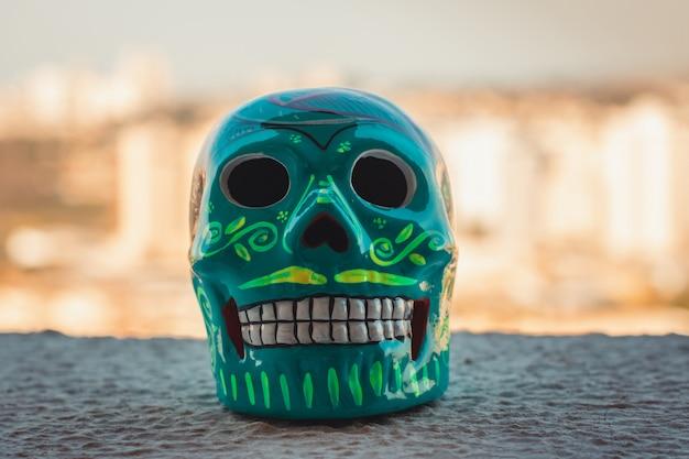 Tradition mexicaine - crâne décoratif