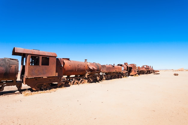 Train cemetery, bolivia