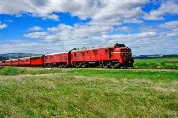 Le train passe weka