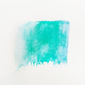 Trait bleu texture aquarelle