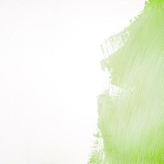 Trait De Peinture Verte Photo gratuit