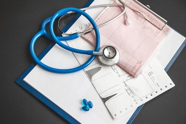 Traitement du concept de maladies cardiaques