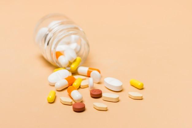 Traitement médical avec des pilules