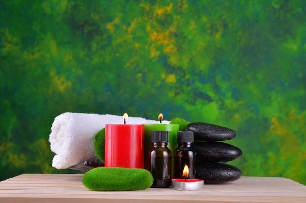 Traitement de spa. essence d'aromathérapie