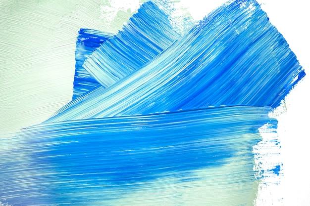 Traits Bleus Et Verts Sur Le Mur Photo gratuit