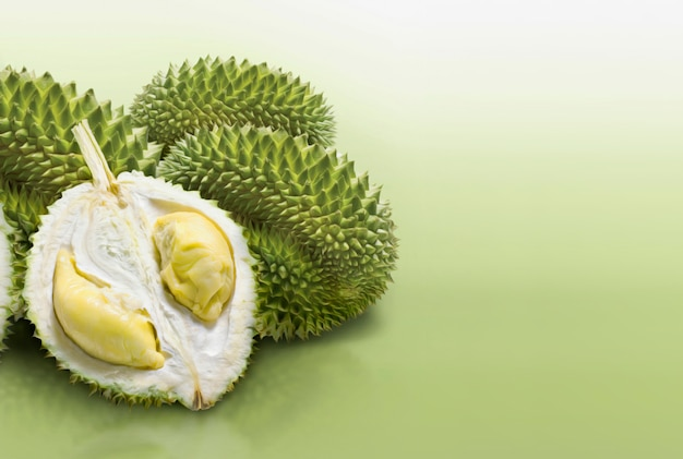 Tranche de fruit durian