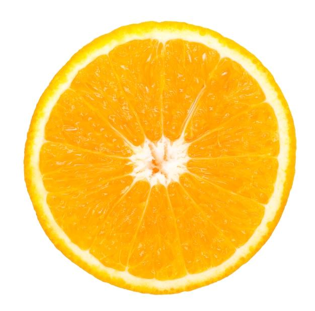 Tranche de fruits orange