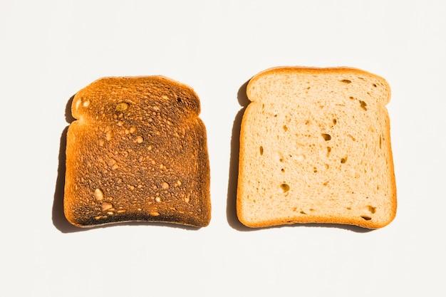 Tranche de pain grillé
