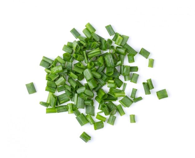 Tranches d'oignon vert