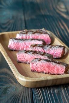 Tranches de steak