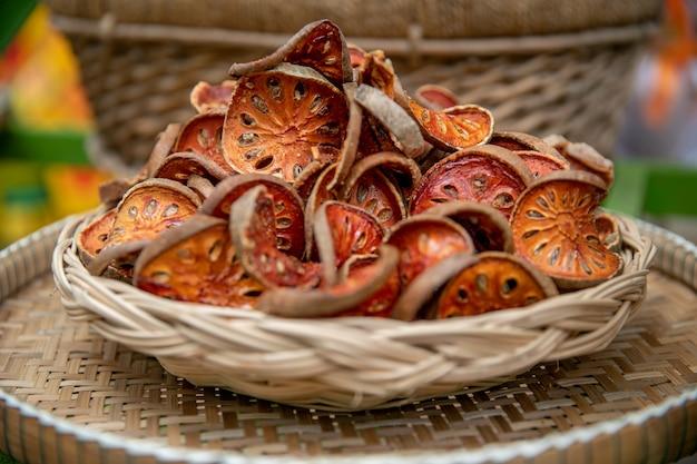 Tranches de thé séchées bale fruit
