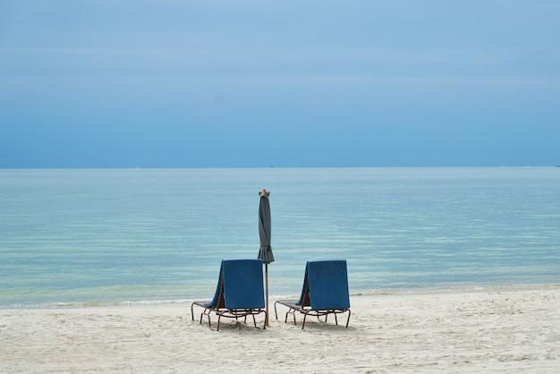 Tranquille scène propre célèbre place large chaise