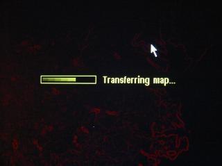 Transfert écran de la carte