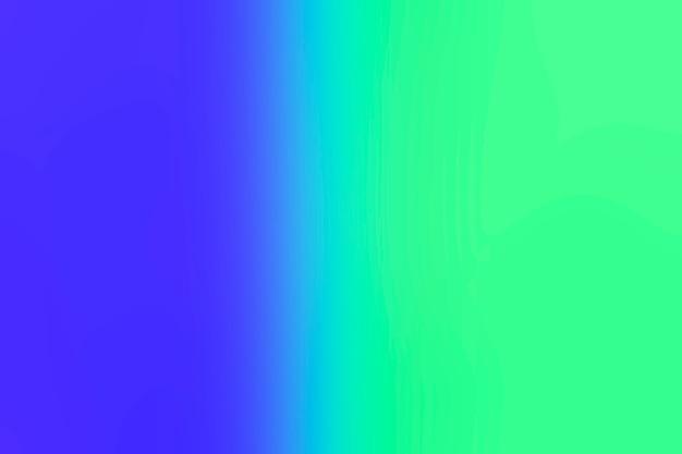 Transition du bleu en vert