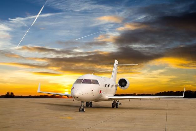 Transport en jet d'avion pour votre passager vip