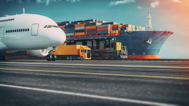 Transport et logistique.
