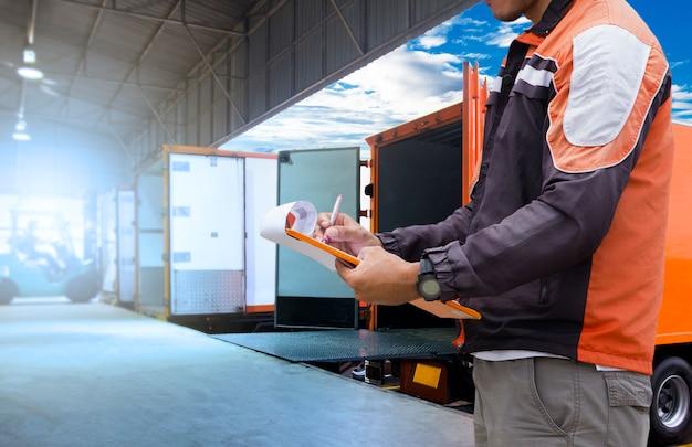 Transport de marchandises et entrepôt logistique