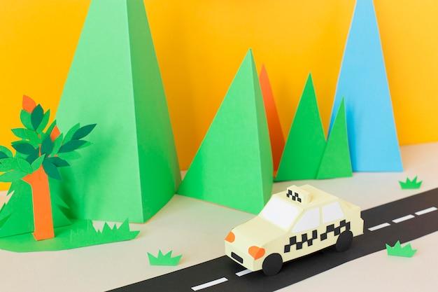 Transport urbain en papier