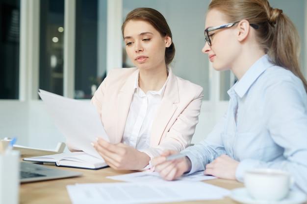 Travail des comptables