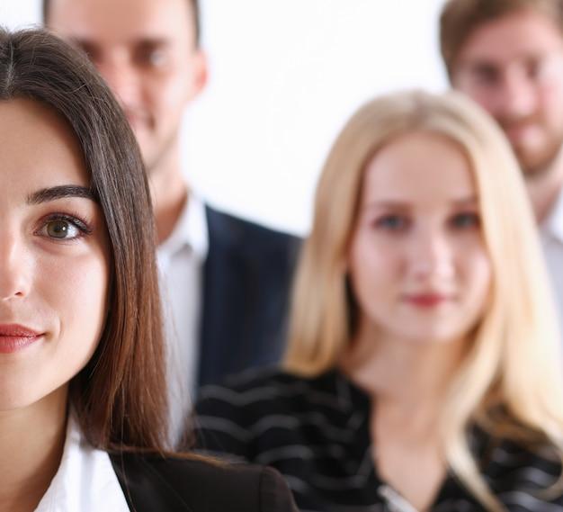 Travail d'équipe de groupe équipe affaires