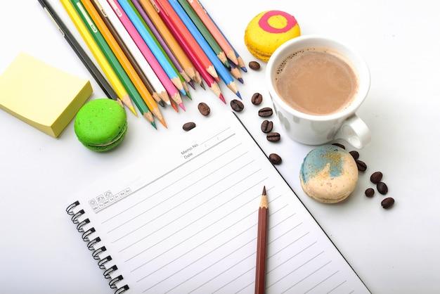 Travailler avec un café