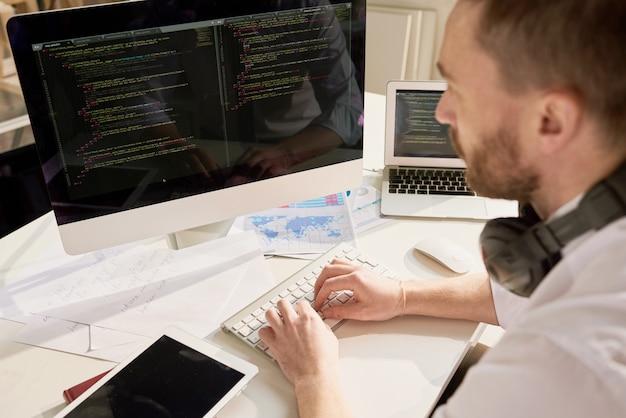 Travailler avec le langage informatique