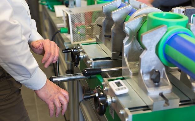 Travailler sur une machine