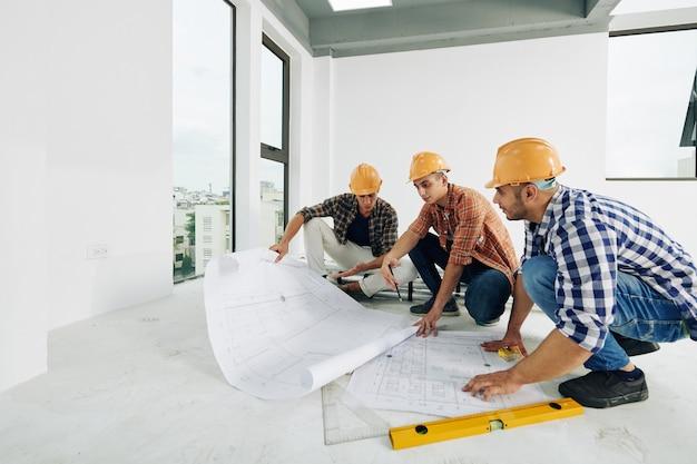 Travailler sur le plan de construction