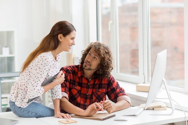 Travailler sur un projet en ligne