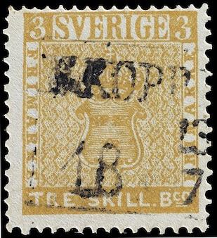 Tre déqualification timbre d'erreur à trois suédois banco