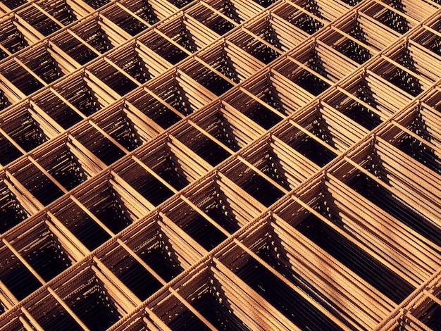 Treillis en acier rebars pour béton armé