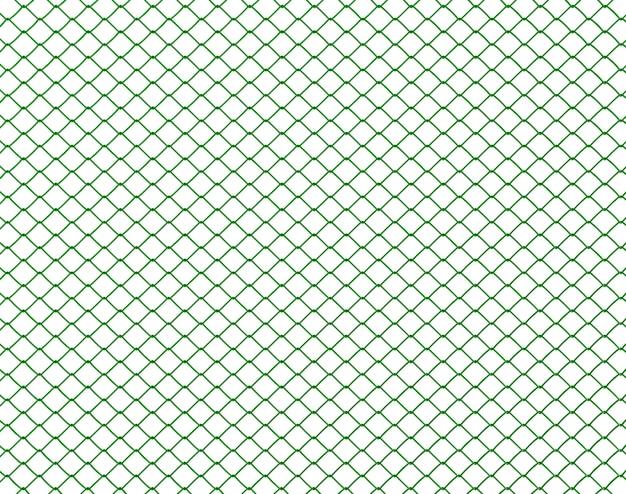 Treillis métallique vert
