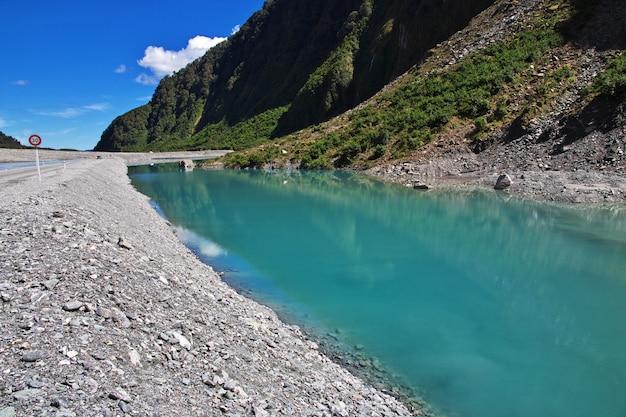 Trekking au fox glacier, nouvelle-zélande