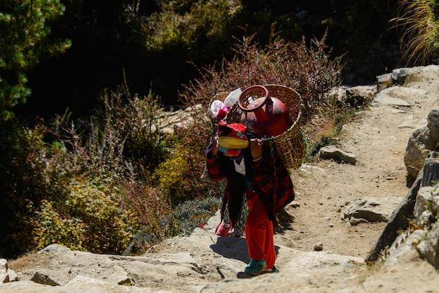 Trekking au népal, himalaya