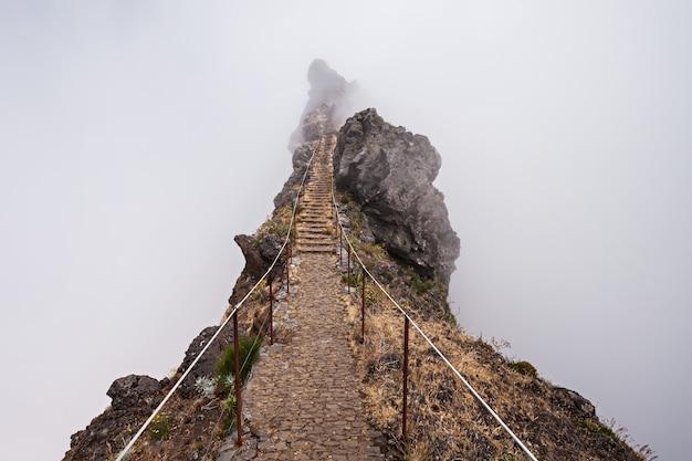 Trekking sur l'île de madère